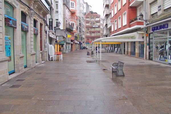 La calle de la baldosa en vilagarcia de arousa - Contactos en villagarcia ...
