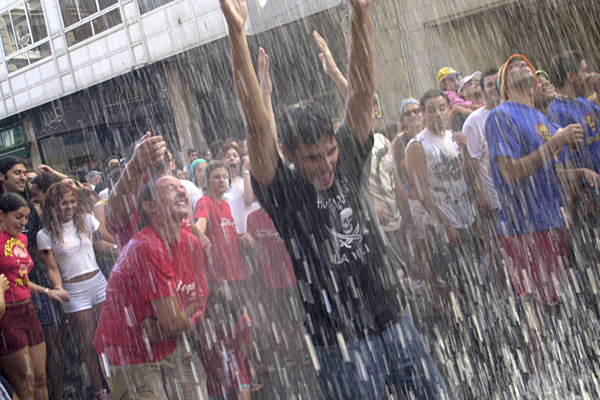 La fiesta del agua de vilagarcia - Contactos en villagarcia ...